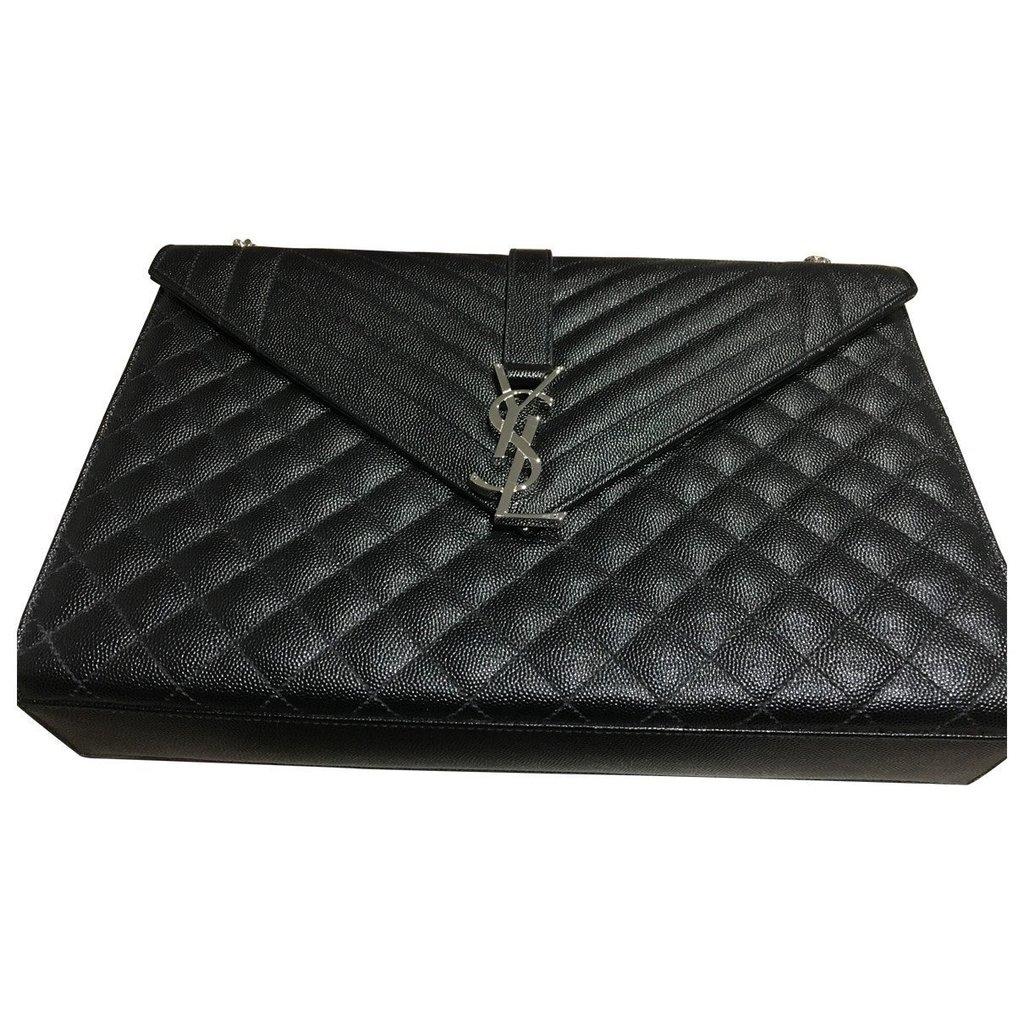 Handbags Handbags Saint Laurent Ysl Black Large