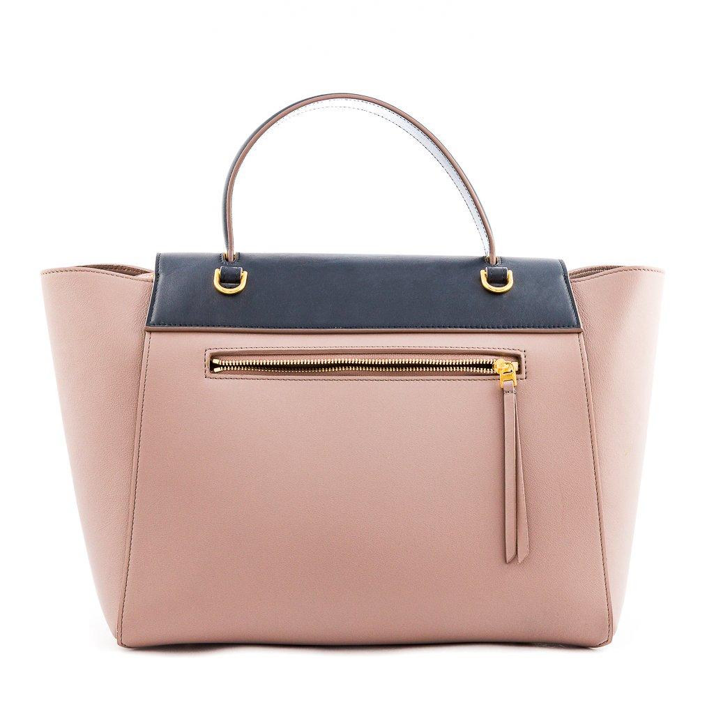 Celine Micro Bi Colour Calfskin Leather Belt Bag