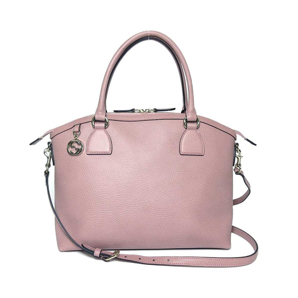 ff0ad412ddcb HANDBAGS :: HANDBAGS :: Gucci Women's Soft Pink GG Charm Dome ...