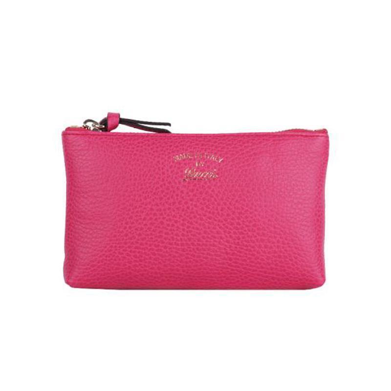 df02fdd29c1efd HANDBAGS :: HANDBAGS :: Gucci Women's Swing Blossom Pink Zip Pouch ...