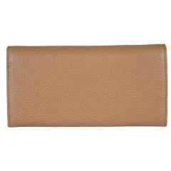 e5bf426d48cf5 Save 8% Gucci Beige Medium Leather Continental Flap Wallet for Women 346058